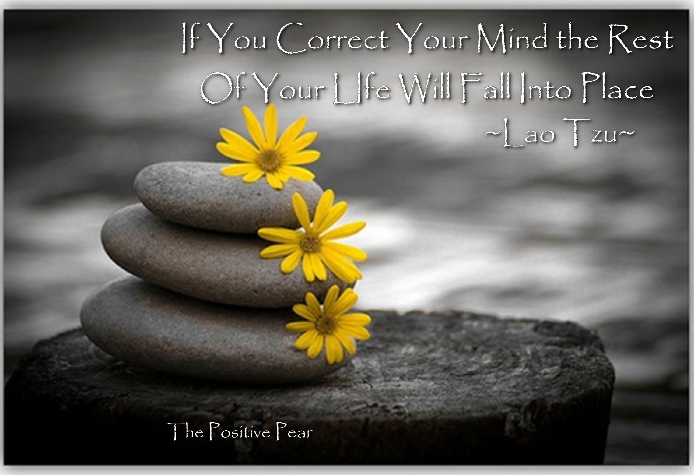 Lao Tzu Quotes Life The Positive Pear » Positive Thinking Quotes